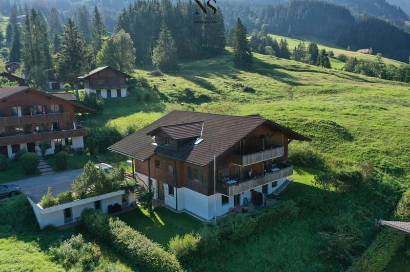 Ein Mehrfamilienhaus mit Blick ins Grüne (2)