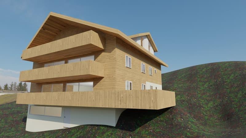 Ein neu zu errichtendes Apartment mit drei Schlafzimmern, schöner Aussicht und einem Spa (2)