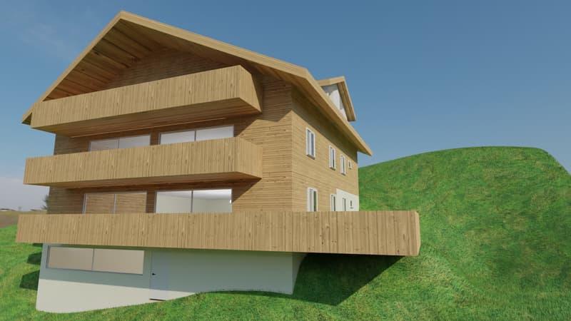 Ein neu zu errichtendes Apartment mit drei Schlafzimmern, schöner Aussicht und einem Spa (1)