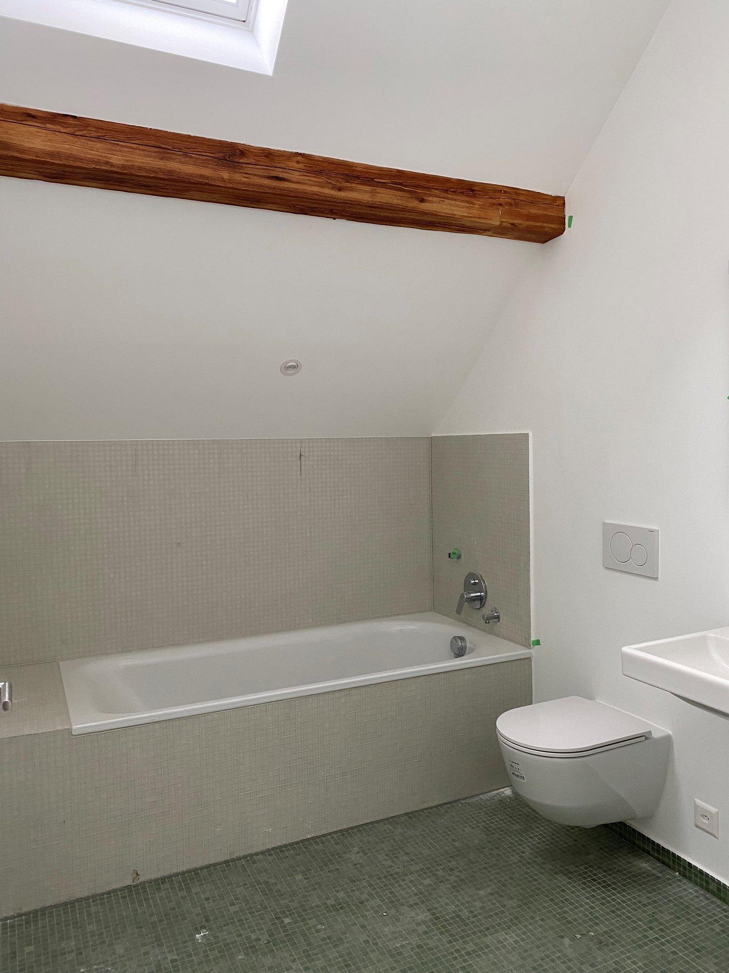 Bad/WC im oberen Stockwerk - Vorschau