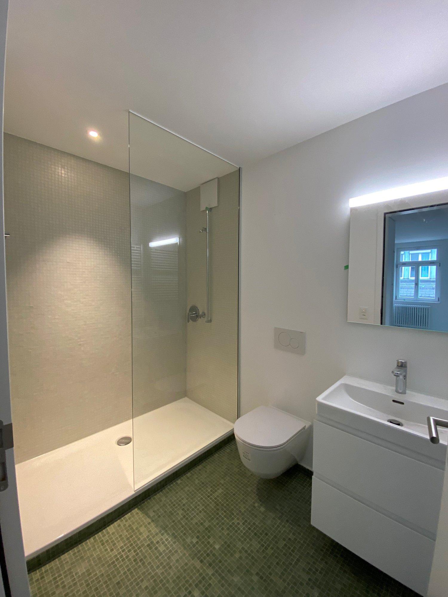 Dusche/WC im unteren Geschoss - Vorschau